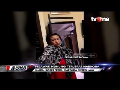 Download Video Eksklusif TvOne! Detik-detik Pelawak Nunung Ditangkap Polisi Gara-gara Narkoba