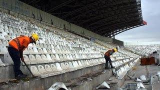 Sivasspor eski 4 eylül stadyumu veda klibi