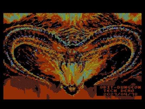 8bit-Dungeon para computadoras Atari XL/XE