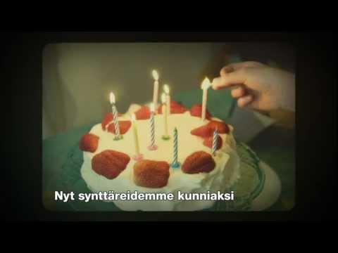 Norwegian TV-mainos / Syntymäpäivät 30s.
