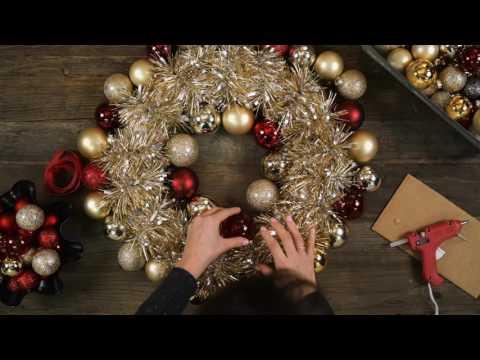 DIY Holiday Ornament Wreath | Ambit Energy