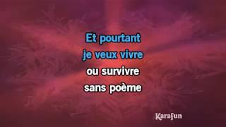 Karaoké Vivre ou survivre - Daniel Balavoine *