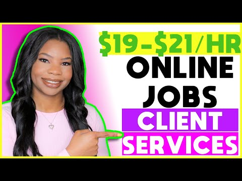 💵 $19-$21 HOURLY Online Work-From-Home Jobs Now Hiring   Apply ASAP!