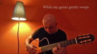 While my guitar gently weeps - The Beatles - adaptação de  Carlos Campos