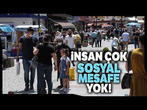 Eskişehir'de Maske Kullanımı Yaygın, Ama Sosyal Mesafe Unutuldu
