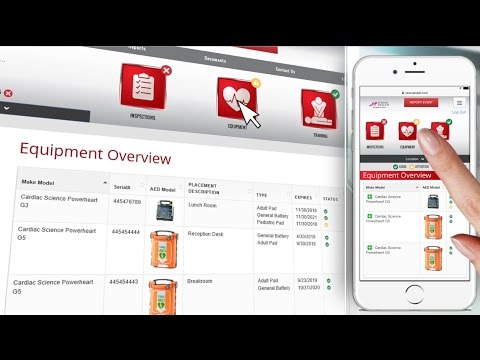 School Health Brand AED Program Management