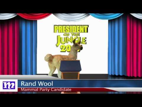 Llama's Speech   President of the Jungle 2017   MMNN Newsbreak   Many Miniatures Theater