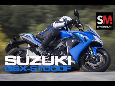 Prueba Suzuki GSX-S1000F 2015