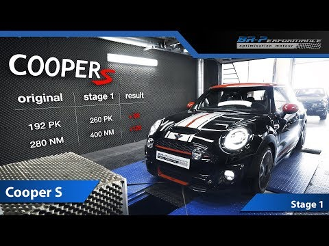 Mini Cooper S F56 Stage 1 with Remus Exhaust By BR-Performance
