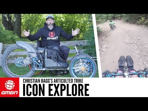 The Icon Explore Articulated Mountain Trike | GMBN Pro Bikes