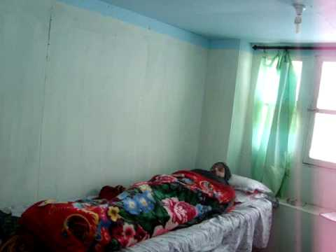 sleeping in a lodge dorm in Dingboche