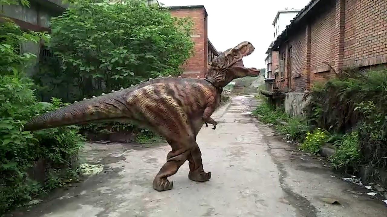 Live dinosaur
