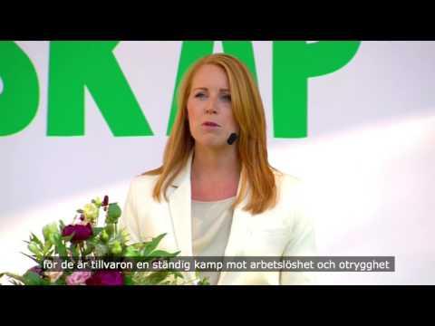 Utanförskap - klipp från Annie Lööfs tal i Almedalen 2017