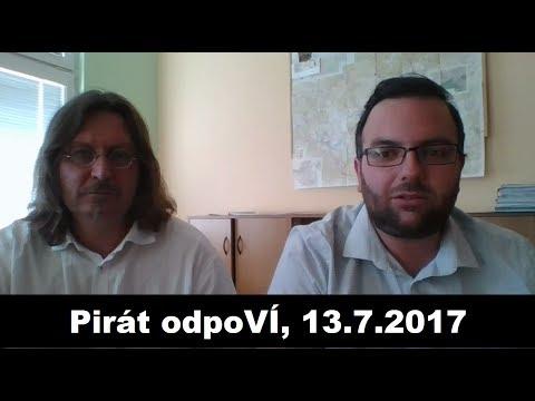 Pirát odpoVÍ, 13.7.2017