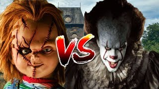IT(Eso) VS Chucky//Especial de Halloween//Cori Rap Ft.JazzGoes