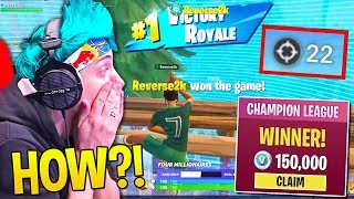 NINJA *GOES CRAZY* Spectating REVERSE2K *DOMINATE* CHAMPIONS LEAGUE! - Fortnite Moments