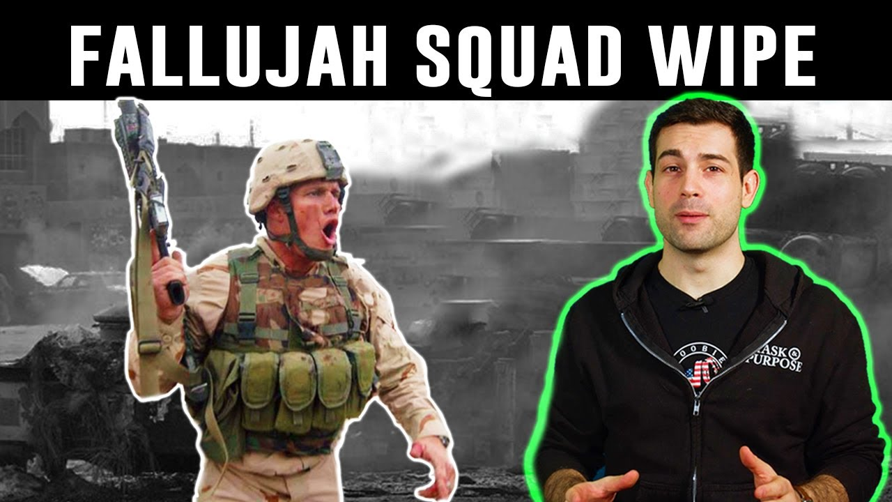 How one US Soldier Wiped an Entire Enemy Squad in Fallujah