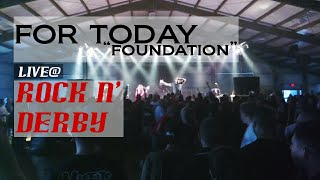 For Today | Foundation | Live at Rock 'N Derby 2016