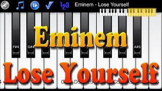 Eminem - Lose Yourself - How to Play Piano Melody