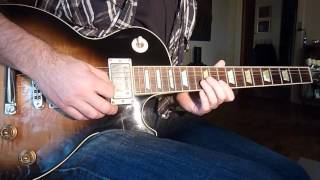 Gary Moore - Still got the blues solo cover (middle part)