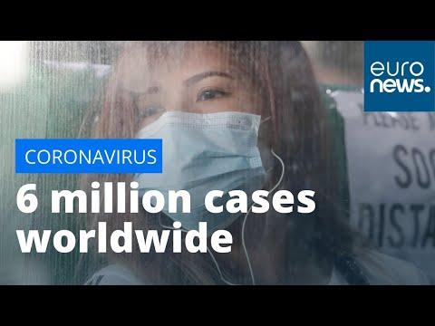 Coronavirus latest: More than six million COVID-19 cases confirmed worldwide