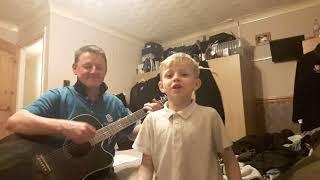 My son Finlay singing We got Salah do do do do do do 1st attempt.