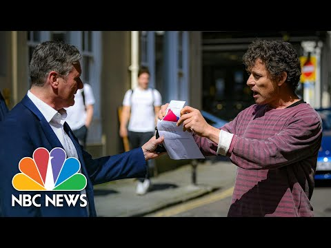 'Get Out Of My Pub!: Anti-Lockdown Pub Landlord Confronts U.K. Labour Party Leader   NBC News NOW