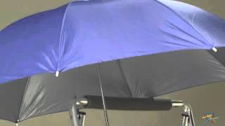 Rio Blue Clamp-On Beach Umbrella - Product Review Video
