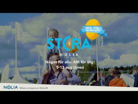 Stora Nolia 5-11 aug Umeå