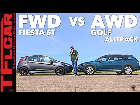 Game Show: Is New VW Golf Alltrack Faster Than a Ford Fiesta ST? Ep.2