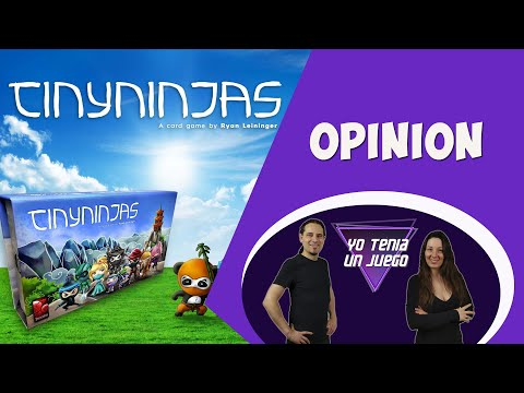 Tiny Ninjas: Battle In A Box (Opinión) - Yo Tenía Un Juego De Mesa #77