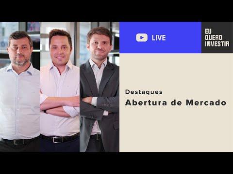 Destaques da Live: Abertura de Mercado - SEG 30/11