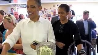 President & Michelle Obama visit the Asheville RAD & 12 Bones April 23, 2010