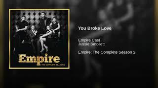 Jussie Smollett - You broke love (short cover)