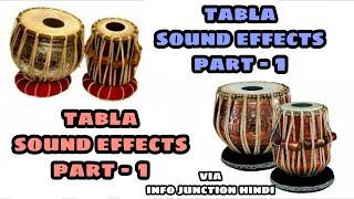 Tabla Sound Effects   Various Tabla Loops   INFO Junction Hindi  