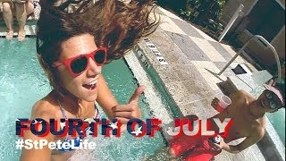 July 4th weekend in St. Pete (Tiesto ft. Matthew Koma - Wasted)