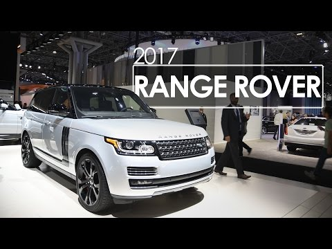Range Rover | First Look & Review | 2017 New York Auto Show
