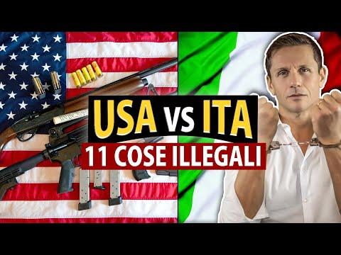 11 COSE ILLEGALI in Italia ma non negli USA | avv. Angelo Greco