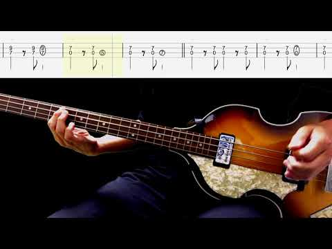 Bass TAB : I'll Be On My Way - The Beatles
