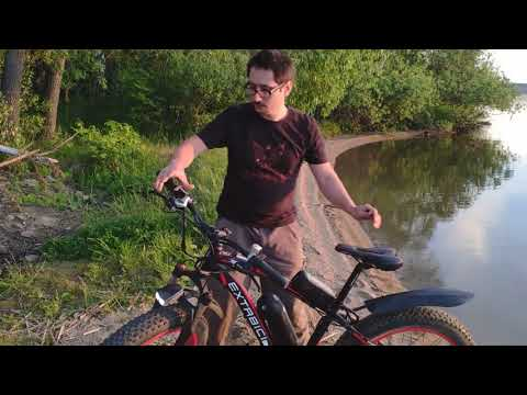 Cyrusher XF660 Fat Tire  Electric Bicycle Reviews in Russian 2019