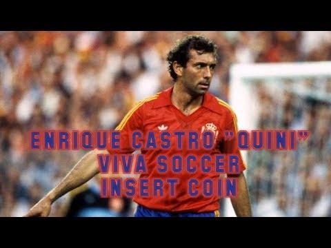 "Viva Soccer (1999) - PlayStation - Homenaje a Enrique Castro ""Quini"""