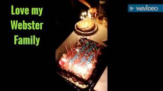 Webster Clan's Handsomest Boys Birthday Celebration