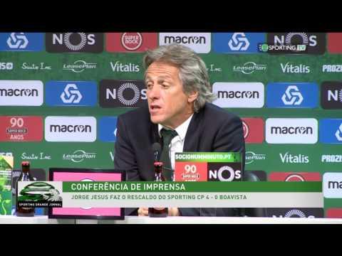 Conferência de imprensa - Sporting CP 4 - 0 Boavista - 8 de abril de 2017