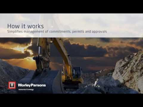 WorleyParsons Environmental Compliance Management App