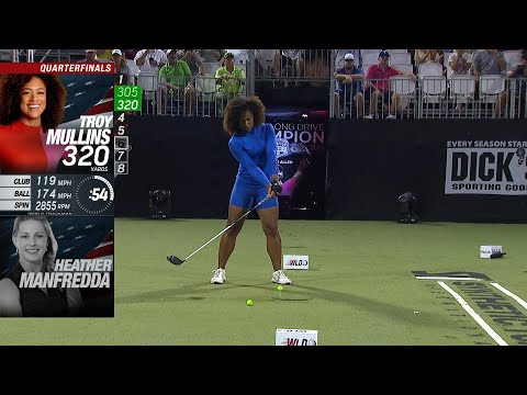 Top 5 Drivers: 2019 WLD World Championships women's division | Golf Channel