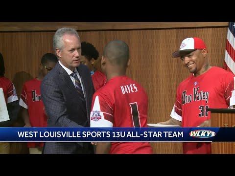 Mayor Greg Fischer honors West Louisville baseball team