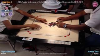 SF-1 (Men Singles): Prashant More (Mumbai) Vs Yogesh Dhongadee (Mumbai) width=