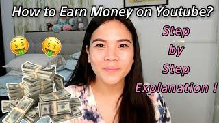 HOW TO MAKE MONEY from YOUTUBE   Explaining 101