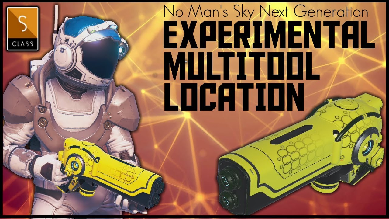 Manic Miners - No Man's Sky Next Gen - Rare S Class Yellow Experimental Multitool Location - 2020