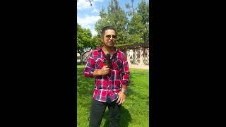 Jesus Mendoza en la presentacion de su nuevo cd MIS INICIOS en Golden Star Radio